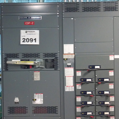 Square D 1600 Amp Switchboard
