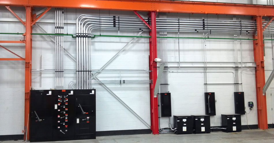 Apollo Heat Treating: 400 Amp Primary Service Switchboard Installation